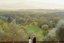 Weddings in Tuscany / a different setting for a special wedding - Poggio alle Ville, Mugello, north of Tuscany: ideas & suggestions for a romantic and simple countryside wedding in Italy