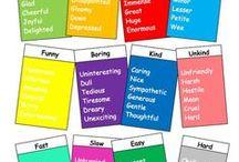 Vocabulary: Classroom ideas