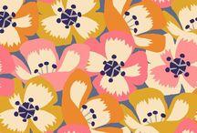 Pretty prints / Des imprimés qui font rêver * lovely inspiring prints