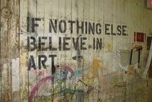 A Thousand Words / Quotes by artists and about art