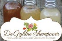 De Gyldne Shampooer / Arbejder med lækre, håndlavede, naturlige kosmetikprodukter, lavet med energi fra de indre verdener
