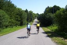 Cycling / Cycling around Northumberland County, Ontario, Canada.