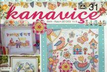 Kanaviçe magazine by TUVA PUBLISHING / Kanaviçe: Lovely Cross Stitch Magazine www.tuvayayincilik.com