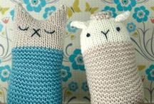 Toys- crochet and knitting