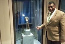 #SuperSelfie / Show us your selfie! Take a photo with the Vince Lombardi trophy, and tweet it with @newarkmuseum & #SuperSelfie.
