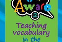 WORD AWARE approach to teaching vocabulary / This gives an overview of our approach for teaching vocabulary. Worth a quick look as it explains lots of the other boards.