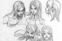 Il·lustració: Sketches / Sketches i dibuixos inacabats