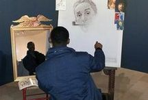 Be Part of the Art! / Create your own Triple Self Portrait at our Norman Rockwell exhibition.
