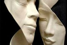 A --- sculpture / sculpture
