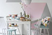 Scandinavian Interiors // / A touch of scandinavian for a beautiful & warm interior. #Scandinavian #Design