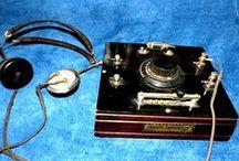 C16 radio, gramaphone, & ...