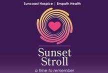 Suncoast Hospice Sunset Stroll / Stroll, remember and celebrate the lives we hold dear in our hearts at the Suncoast Hospice Sunset Stroll. Funds raised support Empath Health and its members including Suncoast Hospice.