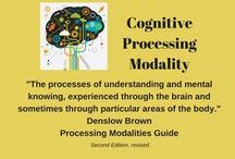 Cognitive Processing Modality / This board explores organizing strategies for the cognitive processor.  The cognitive modality encompasses the processes of understanding and mental knowing.  It is experienced through the brain and sometimes through particular areas of the body.  Organizing strategies that may work for the cognitive dominant include taking time to logically talk through a project or using a logical approach to decision-making and an organizing process.