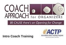 Coach Approach for Organizers / This training program teaches coaching skills and principles to professional organizers. Coaching is a transformative complement to organizing work and an organizer's business. The advanced courses may appeal to individuals seeking credentialling in productivity, leadership and ADHD coaching.