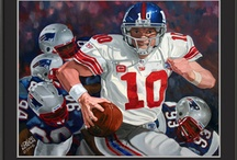 Football Paintings / Football paintings and limited edition prints.