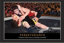 Motivational Sports Posters / Fine art motivational wrestling, ufc, and mma posters by sports artist Edgar J Brown