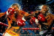 Boxing Paintings / Boxing paintings by Edgar Brown