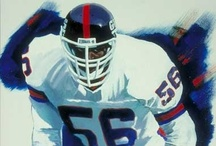 NY Giants Collection / Commissioned by more than 90 New York Giants players since 1990. Here is a collection of some of those paintings through the years along with pictures.