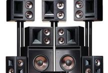 Klipsch Home Theater Speakers / Klipsch is one of the top manufacturers of home theater speakers in the world. Gaze upon their greatness!