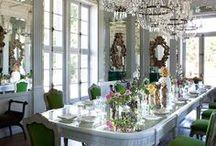 Shabby Chic & White rooms