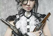 Steampunk / Ya know that cool look of vintage meets gears and machinery!!