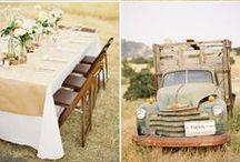Rustic/Farm Wedding-Inspiration