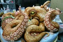 Crazy Cake / Amazingly detailed cake, elaborate and so awesome you don't want to eat just look.