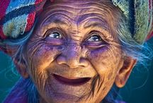 Beauty of old age - Photography / When grace is joined with wrinkles, it is adorable. There is an unspeakable dawn in happy old age. ~ Victor Hugo