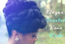 Protective Styles / Cute protective hairstyle tutorials for women with natural hair