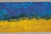 All'orizzonte / dipinti