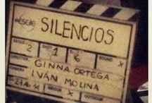 """Silencios / En este tablero se encuentra un registro fotográfico del proceso artístico y rodaje del cortometraje """"Silencios""""; donde hice la DIRECCION ARTISTICA. España-2014"""
