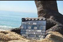 """EL CEREZO (the box) / En este tablero se encuentra un registro fotográfico del proceso artístico y rodaje del cortometraje """"El Cerezo""""; donde hice parte del departamento de construcción y ambientación. España-2011"""
