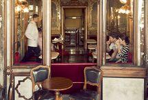 Cafes around Italy
