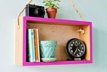 Craft Projects // Home / DIY projects for furniture and living spaces. Craft projects to help transform your home.