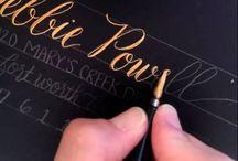 Calligraphy/Hand Lettering Art