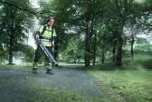 Leaf Blowers / Learn more about Husqvarna consumer and professional leaf blowers. / by Husqvarna USA