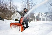 Snow Blowers / Husqvarna Snow Blowers or Snow Throwers can move more snow than a cold front. #HusqvarnaSnow / by Husqvarna USA