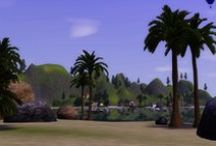 The Sims 3 - Flora Bell Bay / A world that I made post-Ambitions but never uploaded. I recently found the world file and am so happy! I love this world, it seems to have a chilled out feel to it.