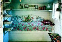 chambre dans le salon