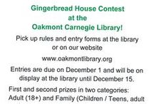 Gingerbread House Inspiration / Get inspired for our upcoming Gingerbread House Contest!
