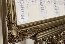 Table Plan Easels and Frames
