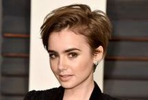 Short Hairstyles For Women / Pictures of cute, trendy and sexy hairstyles for short hair. Images of straight, wavy and curly short haircuts.