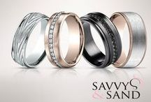 The Men's Collections / A selection of Men's Wedding Bands from Savvy & Sand