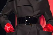 Simpathy for the devil...Black & red! / Fashion, glamour, design, styilish jewels & fashion accessories... black & red mood!