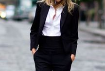 Simplicity, Elegance / What magic black˛and white (and maybe denim) can do
