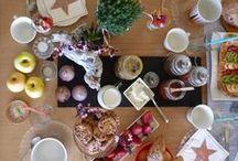 Mesas y comida
