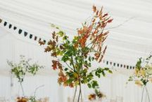Autumn arrangements from Members of The British Flower Collective / 100 % British Flowers and Foliage which can be found in the Autumn months