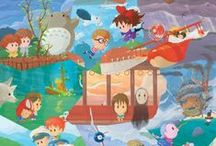 Hayao Miyazaki / by Anne
