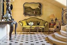 Beautiful Houses and Chateaus  / Beautiful houses, chateaus, interior design, home décor.