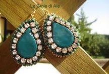 """Jewellery / Creazioni """"Hand made"""" realizzate con zip"""
